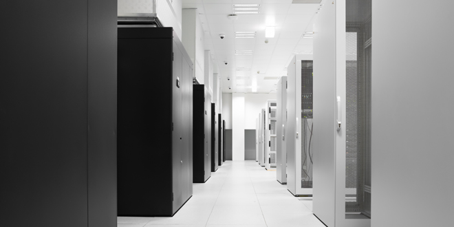 A view of one of the datacenters